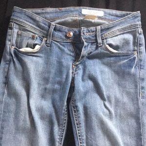 H&M skinny low jeans